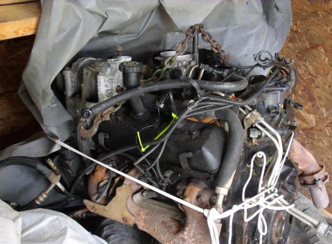 1997 4.3 Vortec engine out of sierra