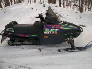 1997 Arctic Cat 580 EFI - $1000 Crosby