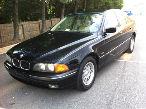 1997 bmw 528i low mileage runs great excellent price for sale in burke virginia classified. Black Bedroom Furniture Sets. Home Design Ideas