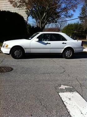1997 c280 mercedes white, original owner ,garage kept