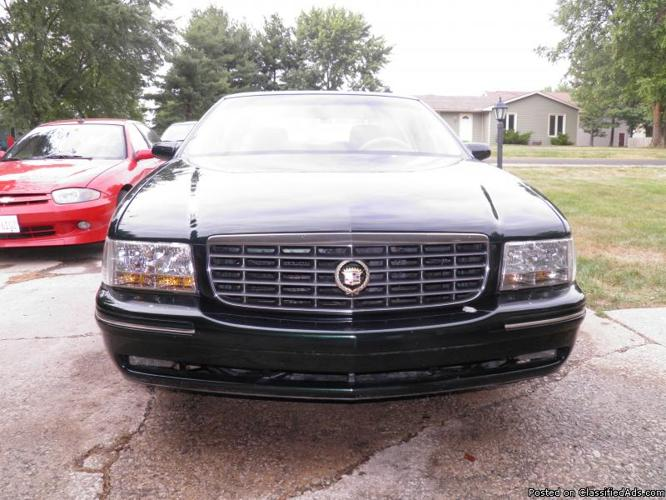 1997 cadillac deville concourse for sale in mahomet illinois classified. Black Bedroom Furniture Sets. Home Design Ideas