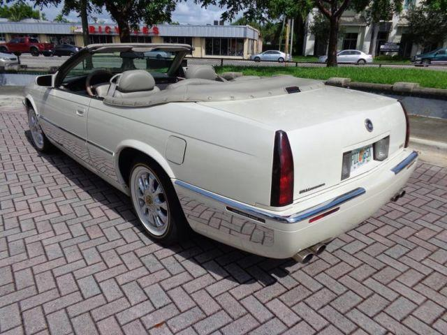 cadillac eldorado convertible coach builders limited clean carfax  sale  fort
