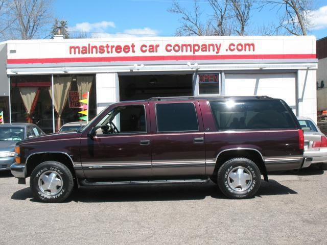1997 chevrolet suburban for sale in hopkins minnesota. Black Bedroom Furniture Sets. Home Design Ideas