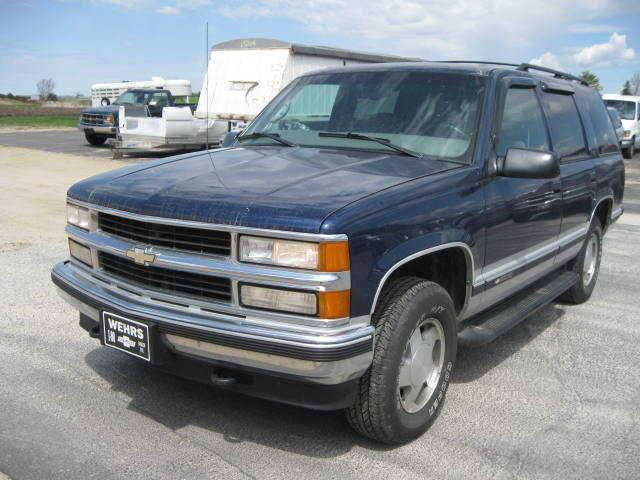 1997 chevrolet tahoe ls for sale in bangor wisconsin classified. Black Bedroom Furniture Sets. Home Design Ideas