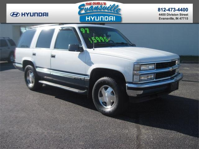 1997 chevrolet tahoe for sale in evansville indiana classified. Black Bedroom Furniture Sets. Home Design Ideas