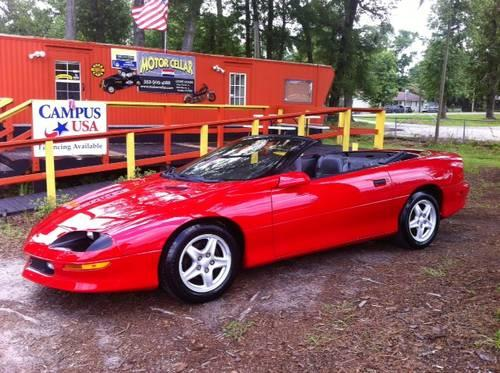 1997 chevy camaro convertable for sale in alachua florida classified. Black Bedroom Furniture Sets. Home Design Ideas