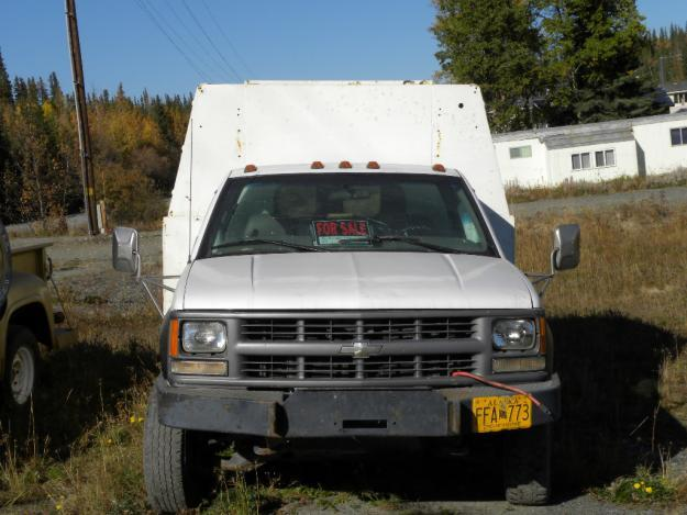 1997 chevy one ton dually utility truck for sale in ekwok alaska classified. Black Bedroom Furniture Sets. Home Design Ideas