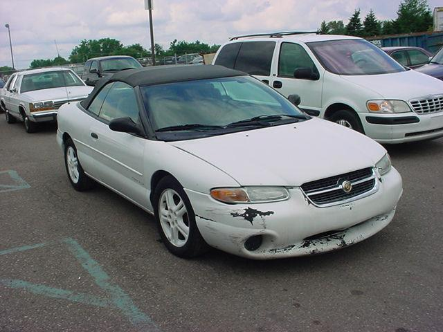 1997 chrysler sebring jx for sale in pontiac michigan. Cars Review. Best American Auto & Cars Review