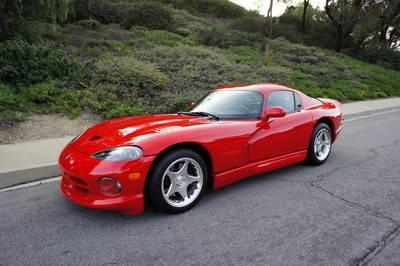 1997 dodge viper gts coupe 2 door 8 0l for sale in chino. Black Bedroom Furniture Sets. Home Design Ideas