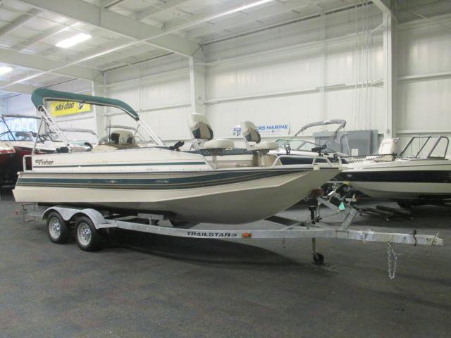 1997 fisher 200 freedom w mercury 150hp outboard for sale for Outboard motors for sale in michigan