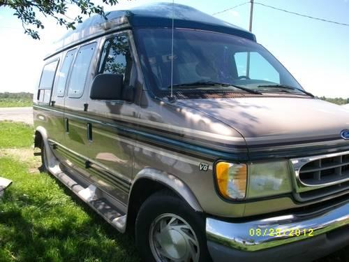 1997 ford e150 high top conversion van for sale in grabill indiana classified. Black Bedroom Furniture Sets. Home Design Ideas