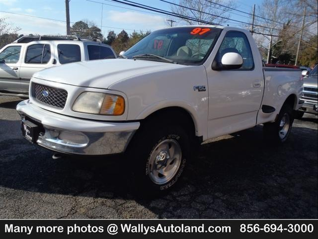1997 ford f 150 flareside xlt 4x4 like new runs great for sale in franklinville new jersey. Black Bedroom Furniture Sets. Home Design Ideas
