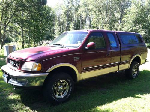 1997 ford f150 4x4 ext cab lariat for sale in crosby. Black Bedroom Furniture Sets. Home Design Ideas