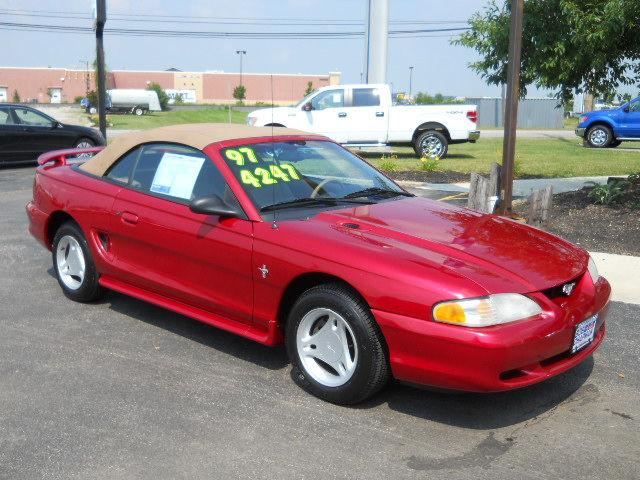 1997 ford mustang for sale in marysville ohio classified. Black Bedroom Furniture Sets. Home Design Ideas