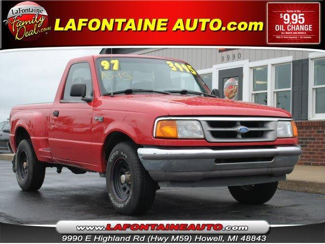 1997 ford ranger for sale in howell michigan classified. Black Bedroom Furniture Sets. Home Design Ideas