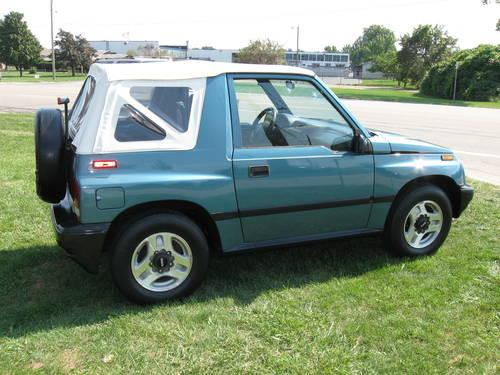 1997 geo tracker convertable key west fl mint 56k miles wow for sale in howell. Black Bedroom Furniture Sets. Home Design Ideas