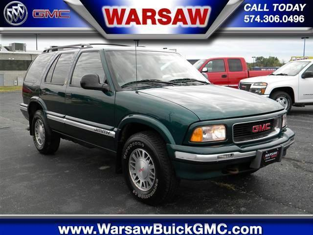 1997 gmc jimmy slt for sale in warsaw indiana classified. Black Bedroom Furniture Sets. Home Design Ideas