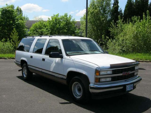1997 gmc suburban 1500 for sale in milwaukie oregon. Black Bedroom Furniture Sets. Home Design Ideas