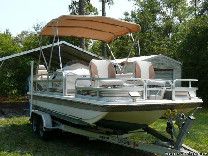 1997 Goffrey Hurricane Deck Boat