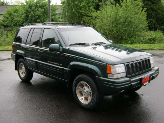 1997 jeep grand cherokee limited for sale in milwaukie oregon. Black Bedroom Furniture Sets. Home Design Ideas