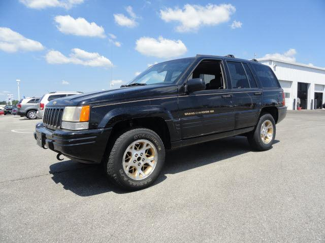 1997 jeep grand cherokee limited for sale in bradley illinois. Black Bedroom Furniture Sets. Home Design Ideas