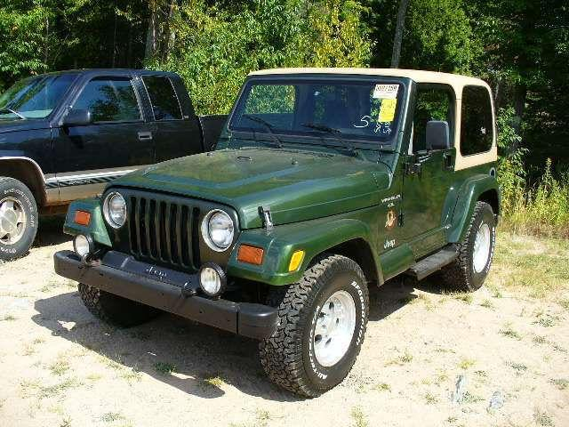 1997 jeep wrangler sahara for sale in marquette michigan. Black Bedroom Furniture Sets. Home Design Ideas
