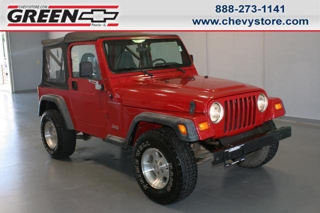 1997 Jeep Wrangler Se 1997 Jeep Wrangler Car For Sale In