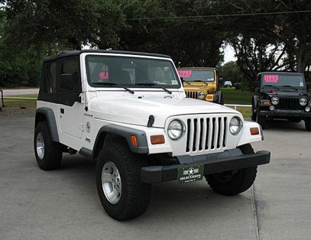 1997 jeep wrangler se for sale in league city texas classified. Black Bedroom Furniture Sets. Home Design Ideas