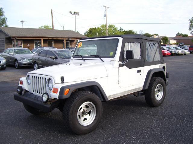 1997 jeep wrangler se for sale in wichita kansas classified. Black Bedroom Furniture Sets. Home Design Ideas