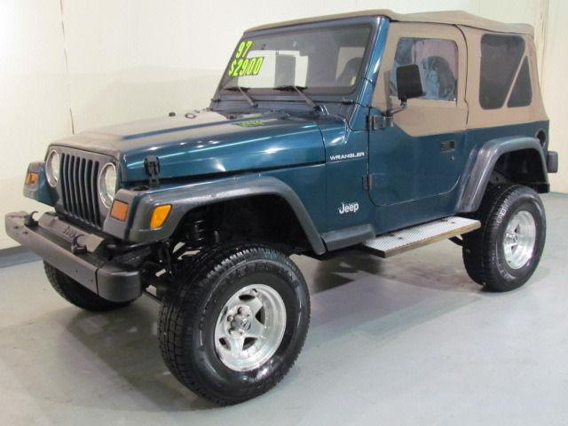 1997 jeep wrangler se 1997 jeep wrangler se car for sale in madison oh 4365088604 used. Black Bedroom Furniture Sets. Home Design Ideas