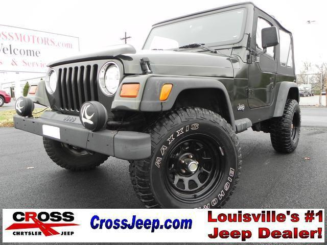 1997 jeep wrangler se for sale in louisville kentucky classified. Black Bedroom Furniture Sets. Home Design Ideas