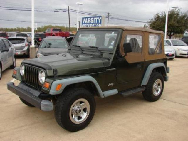 1997 jeep wrangler se for sale in college station texas classified. Cars Review. Best American Auto & Cars Review