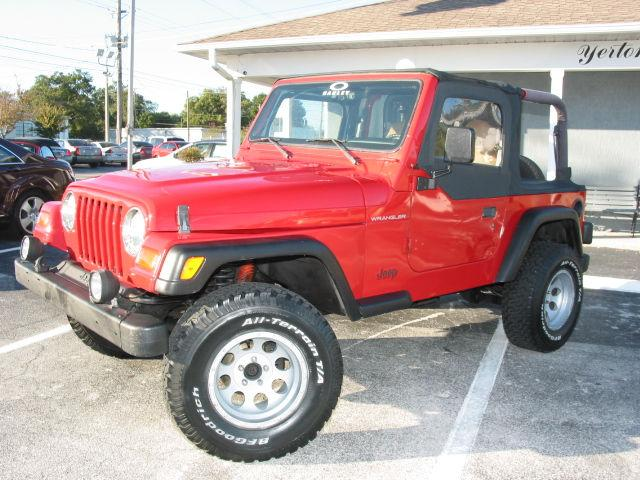 1997 jeep wrangler se for sale in lakeland florida classified. Cars Review. Best American Auto & Cars Review