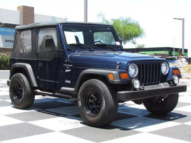 1997 jeep wrangler sport for sale in phoenix arizona classified. Cars Review. Best American Auto & Cars Review