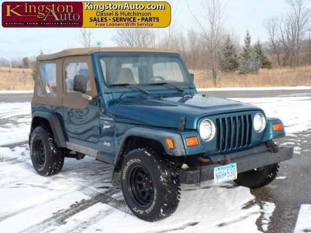 1997 jeep wrangler sport for sale in dassel minnesota classified. Black Bedroom Furniture Sets. Home Design Ideas