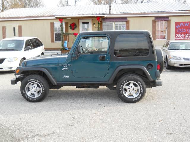 1997 jeep wrangler sport for sale in humboldt tennessee classified. Cars Review. Best American Auto & Cars Review