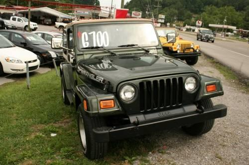 1997 jeep wrangler sport utility sahara for sale in knoxville tennessee classified. Black Bedroom Furniture Sets. Home Design Ideas