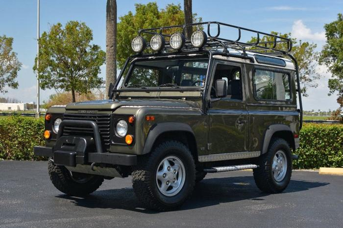 1997 Land Rover Defender LIMITED EDITION 168,300