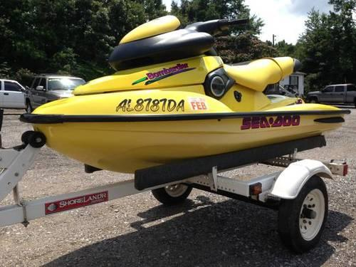 1997 SeaDoo XP w/ Trailer Brand New SBT Engine for Sale in