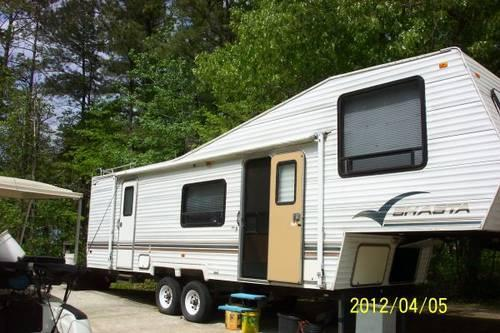 1997 Shasta 5th Wheel Camper Very Nice Well Maintaned Adult Used For Sale In Danburg Georgia