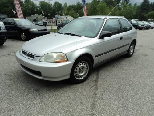 1997 Silver Honda Civic Hatchback 5 Speed For Sale In