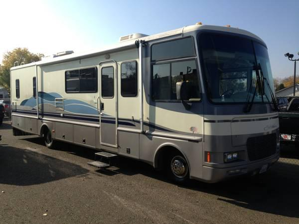 1997 southwind by fleetwood 35ft class a motorhome fully for Class a motorhome height