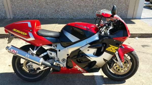 1997 suzuki gsxr 750 srad for sale in dallas texas classified. Black Bedroom Furniture Sets. Home Design Ideas