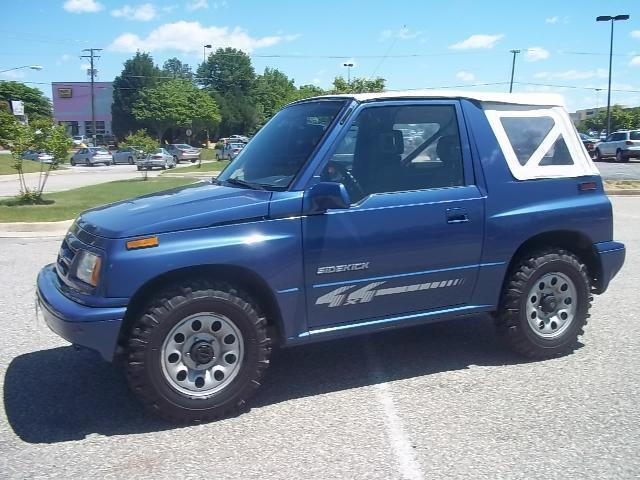 1997 Suzuki Sidekick Jx 4wd For Sale In Richmond Virginia