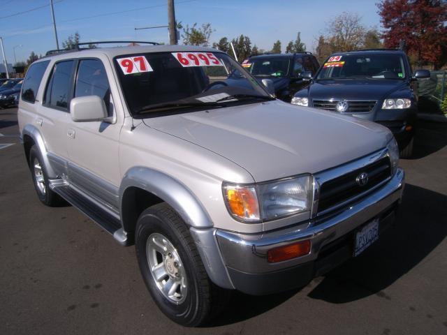1997 toyota 4runner limited for sale in sacramento. Black Bedroom Furniture Sets. Home Design Ideas
