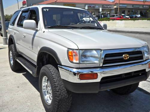 1997 toyota 4runner sr5 4wd for sale in arleta california classified. Black Bedroom Furniture Sets. Home Design Ideas