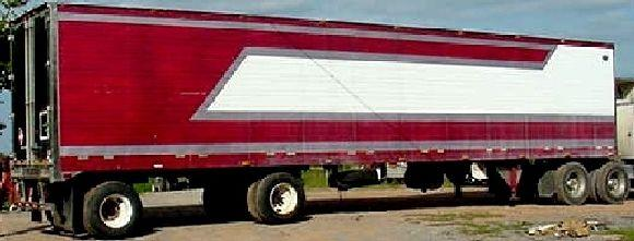 1997 Wabash refer trailer, 48' X 102""