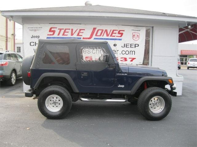 1997 jeep wrangler se for sale in owensboro kentucky classified. Black Bedroom Furniture Sets. Home Design Ideas