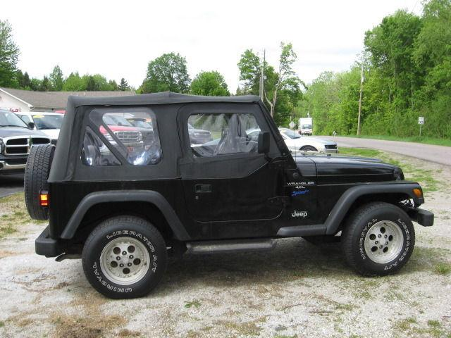 1997 jeep wrangler sport for sale in swanton vermont classified. Cars Review. Best American Auto & Cars Review