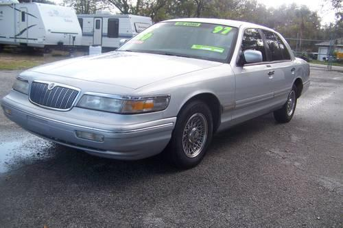 1997 mercury grand marquis gs for sale in lakeland florida classified. Black Bedroom Furniture Sets. Home Design Ideas